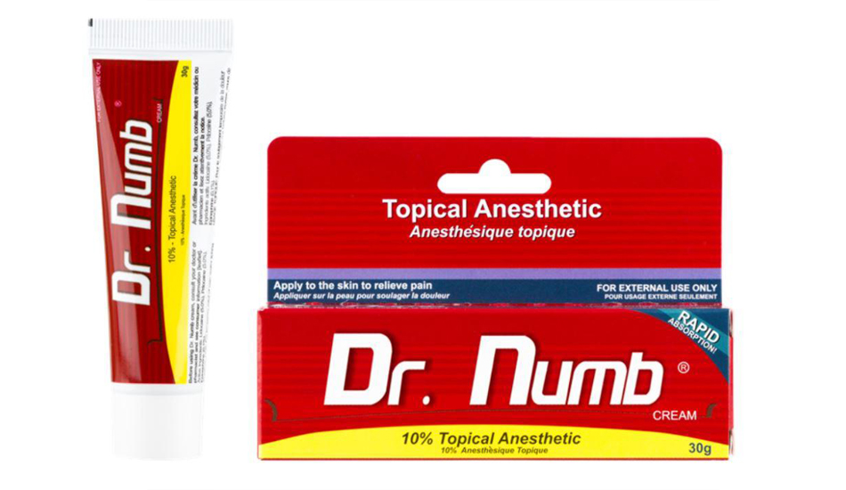 Dr.Numb (Epinephrine), Cream - Anesthetic, 30g