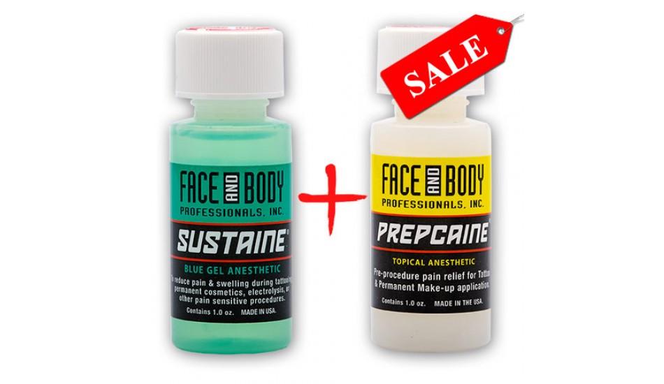 SUSTAINE Blue Gel + PREPCAINE