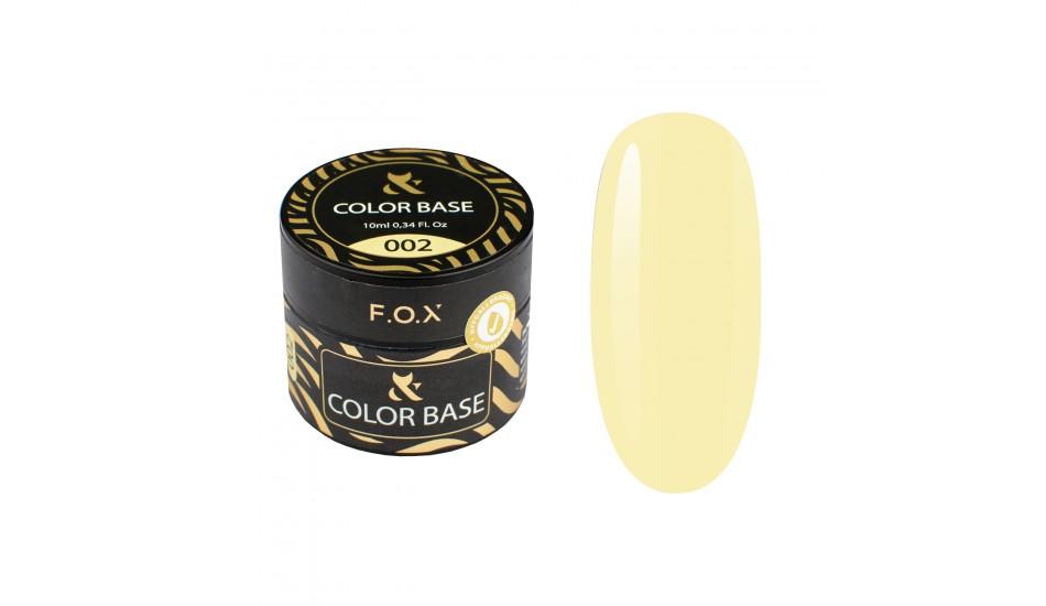 F.O.X BASE Color #002 10ml.