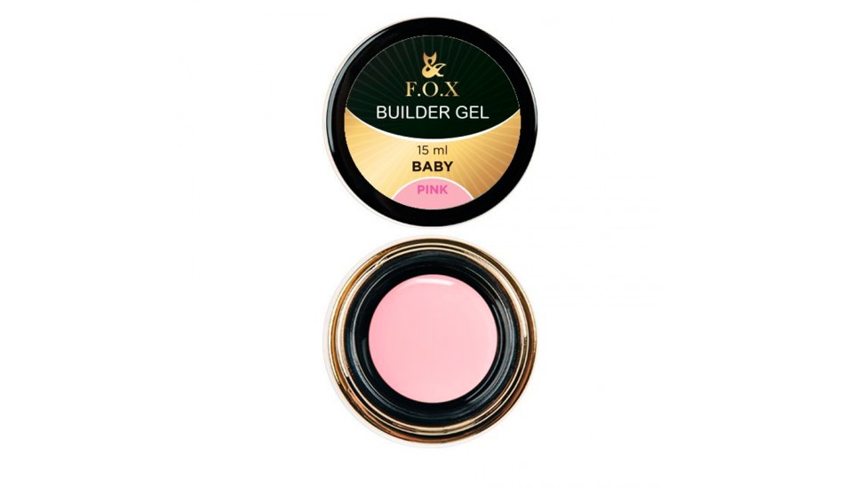 F.O.X BUILDER GEL PINK BABY 15ml