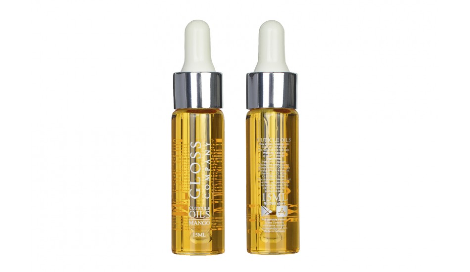 "GLOSS Cuticle Oil  ""Mango"" 15ml."