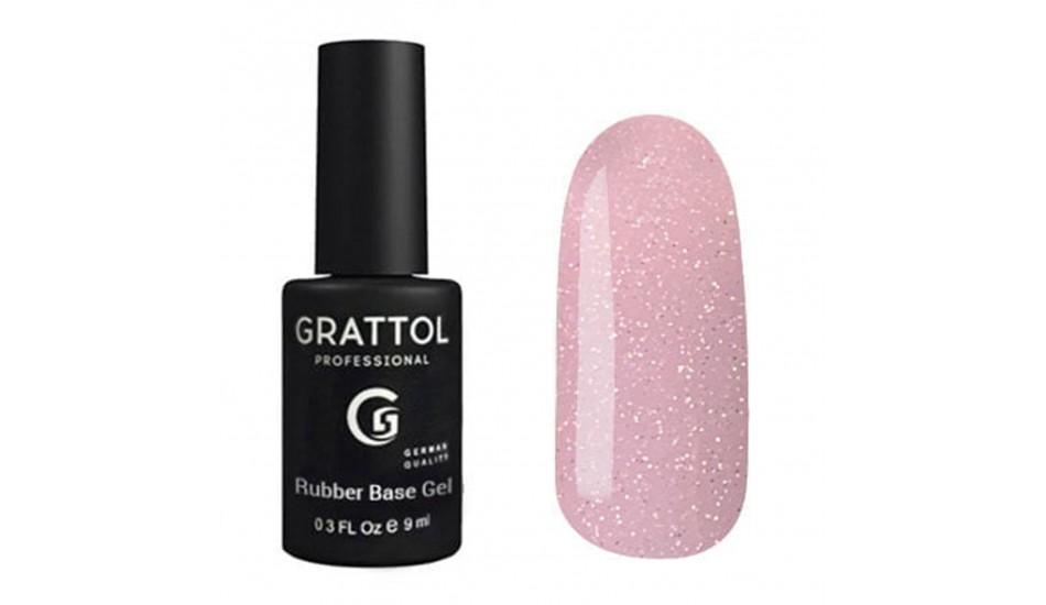 GRATTOL Glitter Base №08, 9ml.