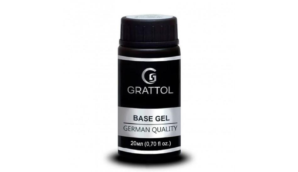 GRATTOL Rubber Base Gel 20ml.