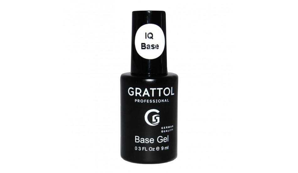 GRATTOL IQ Rubber Base Gel 9ml.