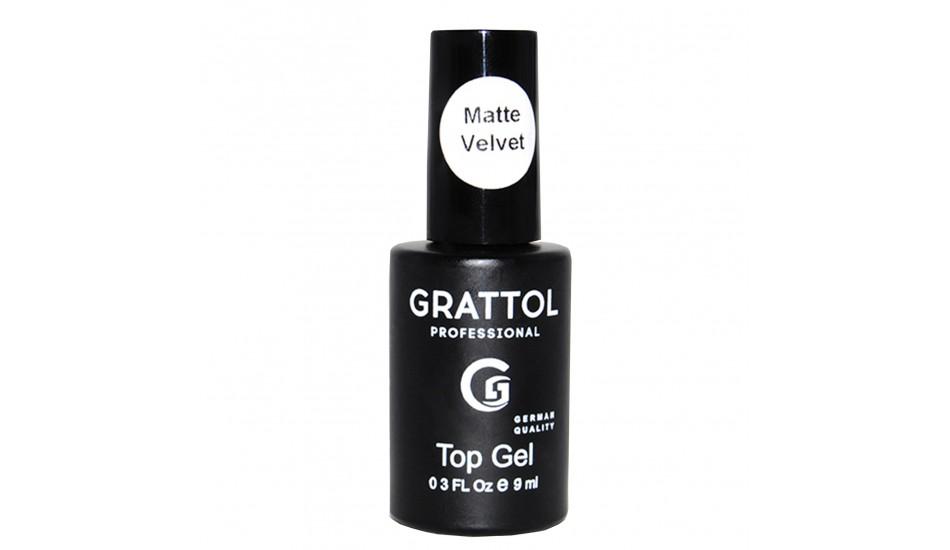 GRATTOL Matte Top Velvet 9ml.