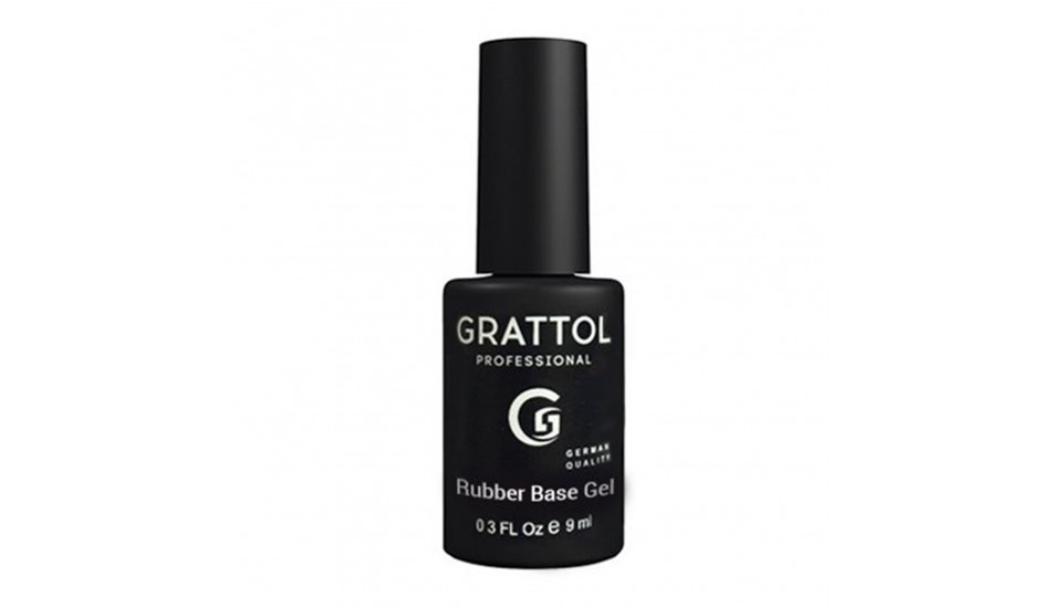 GRATTOL Rubber Base Gel 9ml.