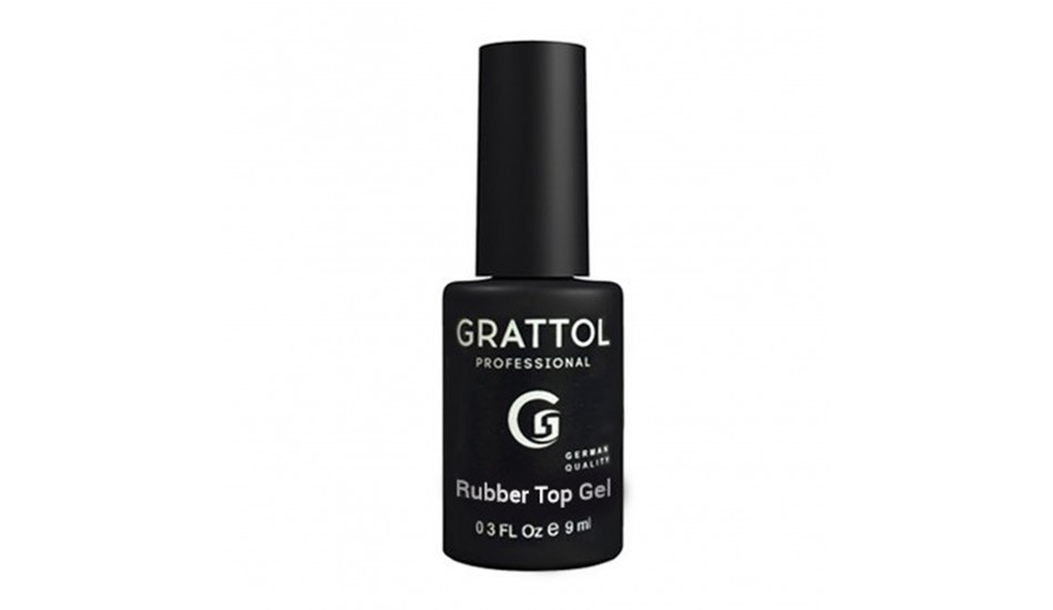 GRATTOL Rubber Top 9ml.