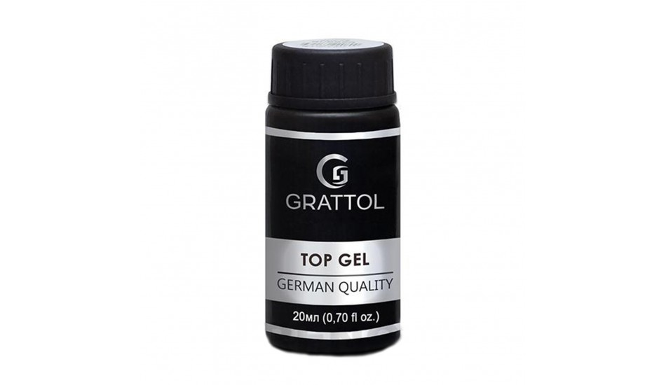 GRATTOL Rubber Top 20ml.