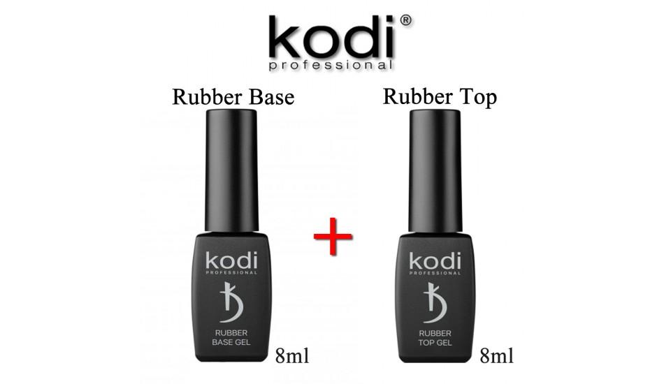 Kodi Rubber Base 8ml + Rubber Top 8ml