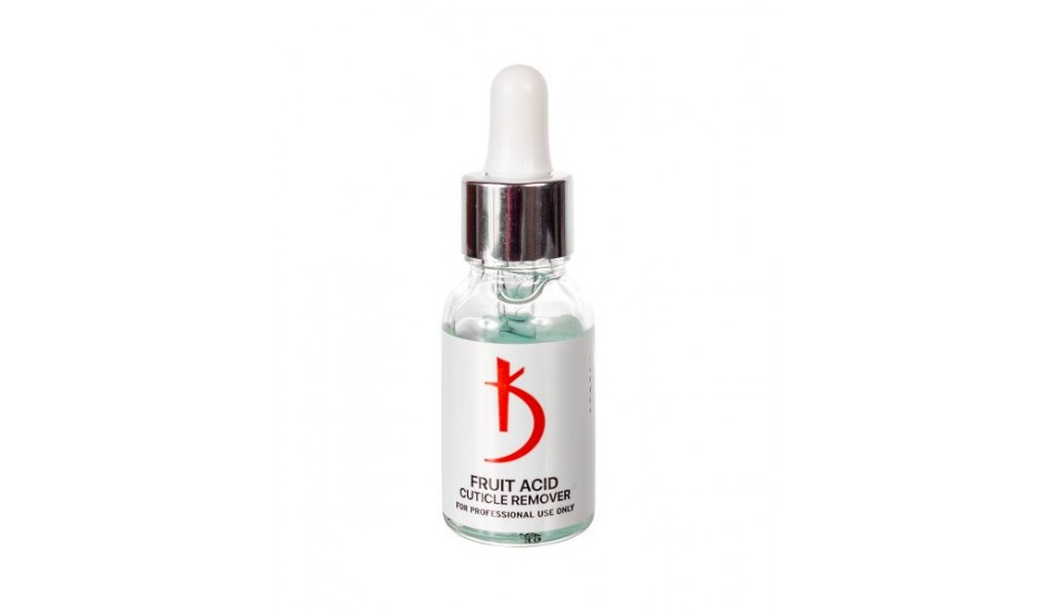 Cuticle remover with fruit acids 15ml.