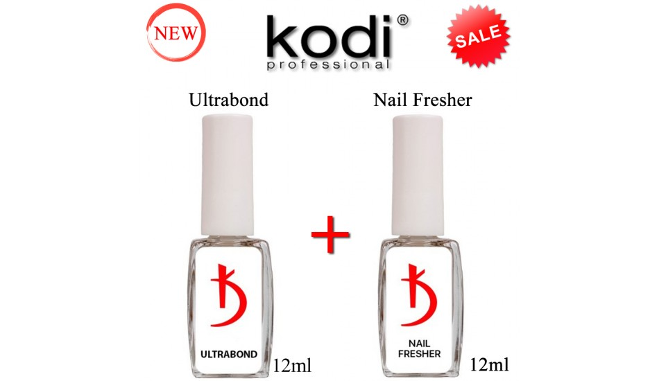 Kodi Ultrabond 12ml + Nail Fresher 12ml