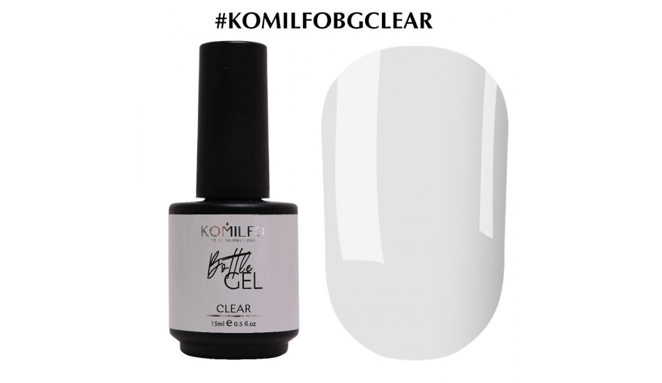 KOMILFO Bottle Gel Clear, 15ml.