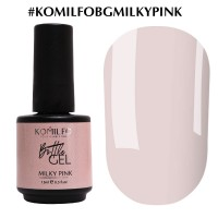 KOMILFO Bottle Gel Milky Pink, 15ml.