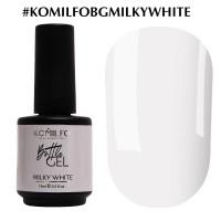 KOMILFO Bottle Gel Milky White, 15ml.