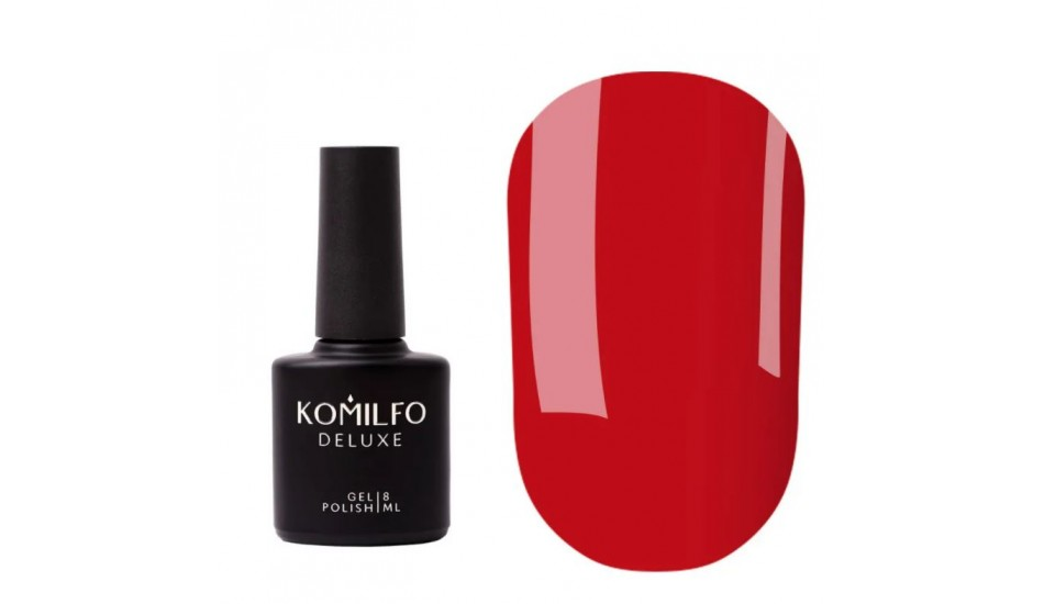 "KOMILFO Base Color ""Confident Red"" 8ml."