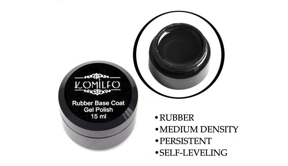 Rubber Base Coat 15 ml. (without brush)
