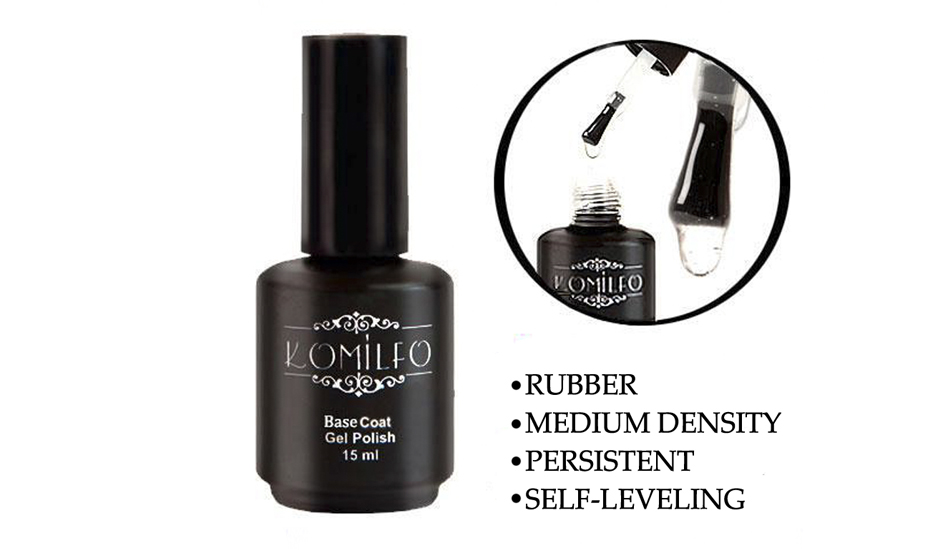 Rubber Base Coat 15 ml.