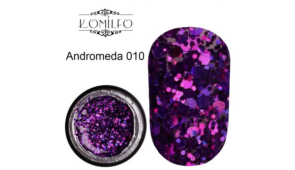 Komilfo Star Gel №010 Andromeda, 5 ml