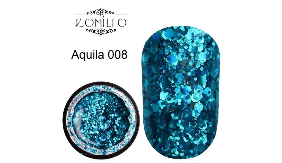 Komilfo Star Gel №008 Aquila, 5 ml