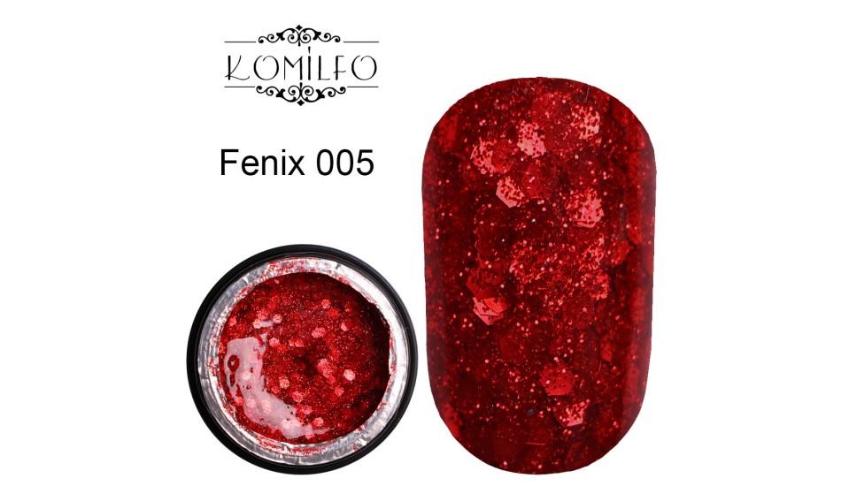 Komilfo Star Gel №005 Fenix, 5 ml