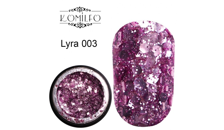 Komilfo Star Gel №003 Lyra, 5 ml