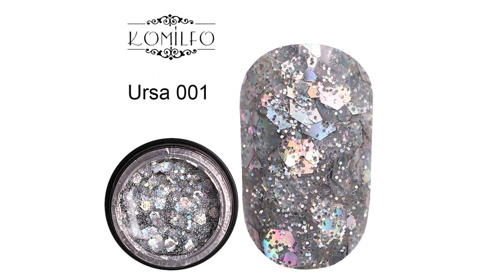 Komilfo Star Gel №001 Ursa, 5 ml