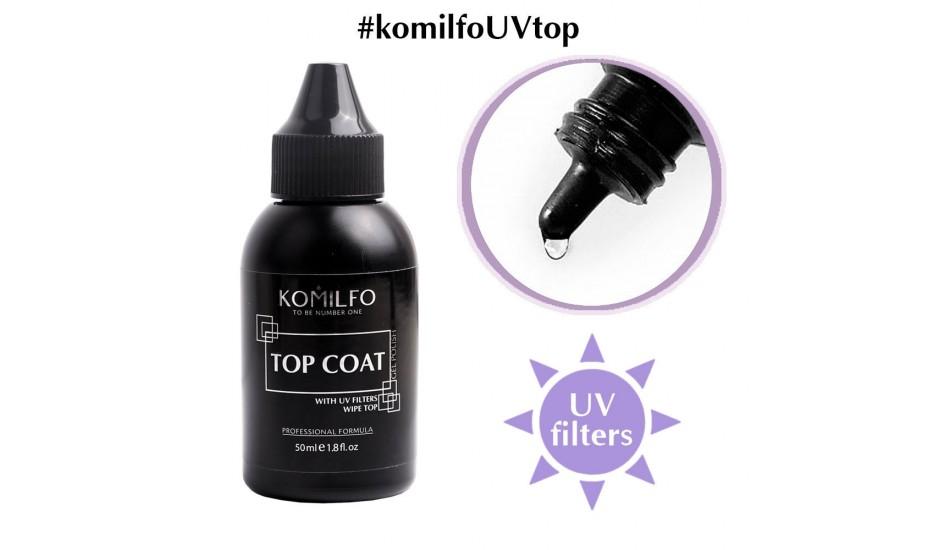 KOMILFO Top Wipe, 50ml. (without brush)