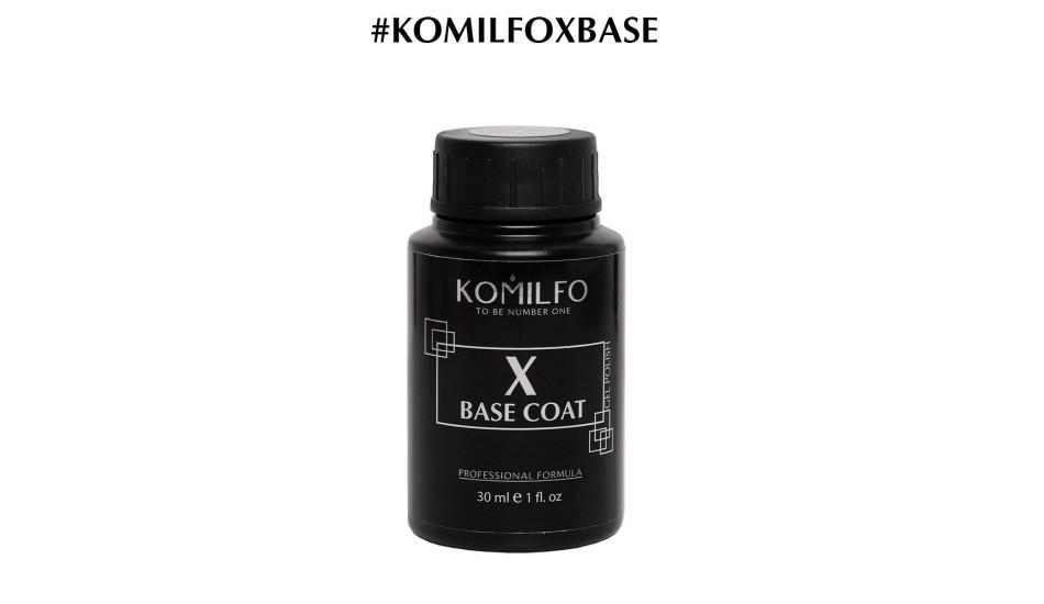 KOMILFO X-Base Rubber Coat, 30ml.