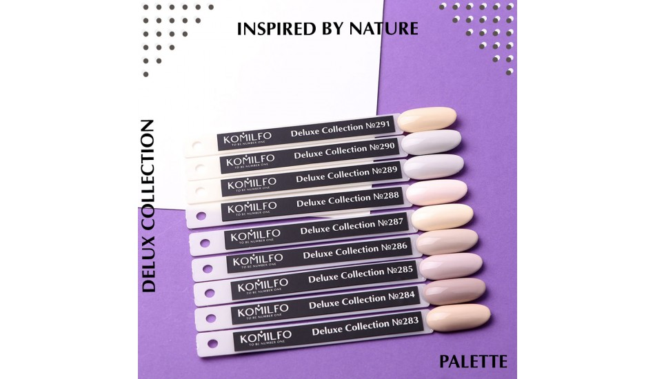 Komilfo Deluxe Series gel polish Palette №283-291 (To view - NOT for Sale!)
