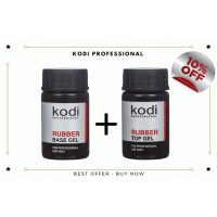 Kodi Rubber Base 14ml + Rubber Top 14ml