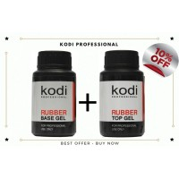 Kodi Rubber Base 30ml + Rubber Top 30ml