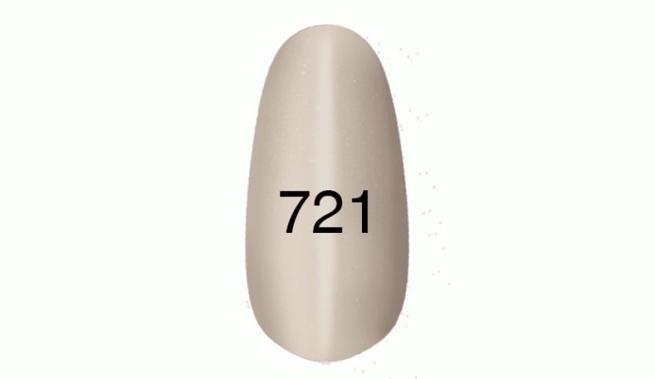 "Gel polish ""Moon light"" № 721, 8ml."