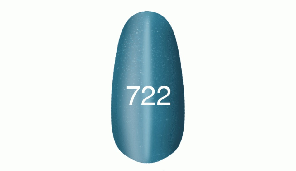 "Gel polish ""Moon light"" № 722, 8ml."