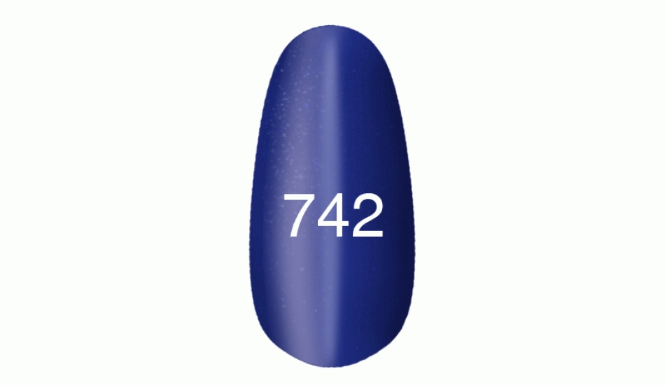 "Gel polish ""Moon light"" № 742, 8ml."