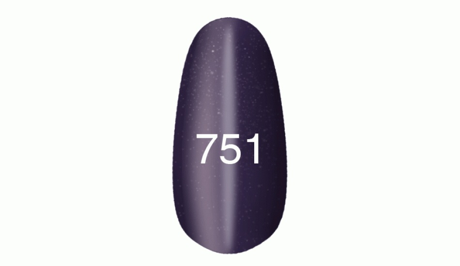 "Gel polish ""Moon light"" № 751, 8ml."