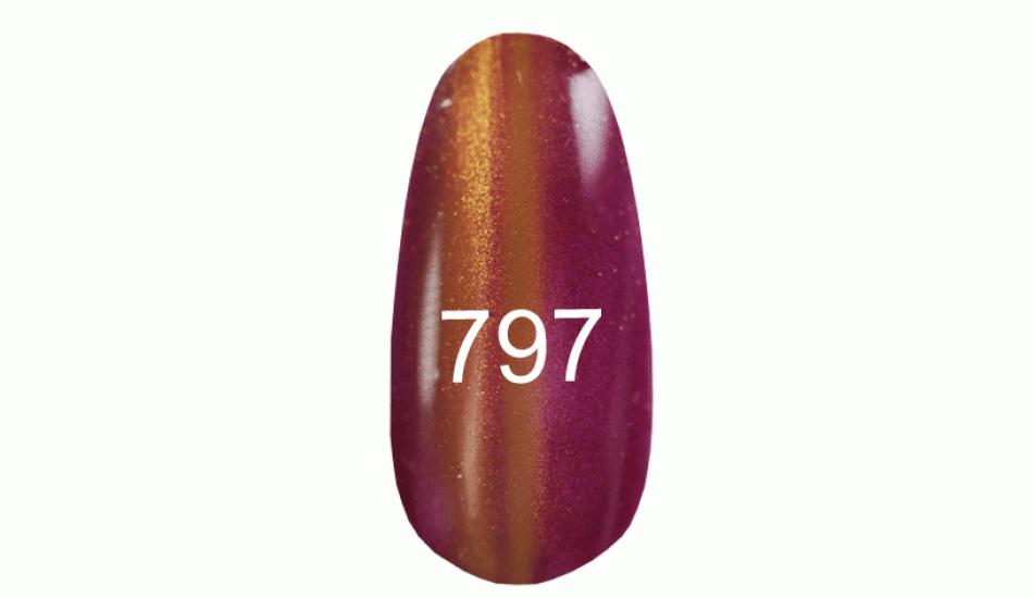 "Gel polish ""Moon light"" № 797, 8ml."