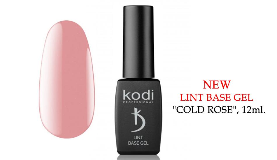 "Kodi Lint base gel ""Cold Rose"", 12ml."