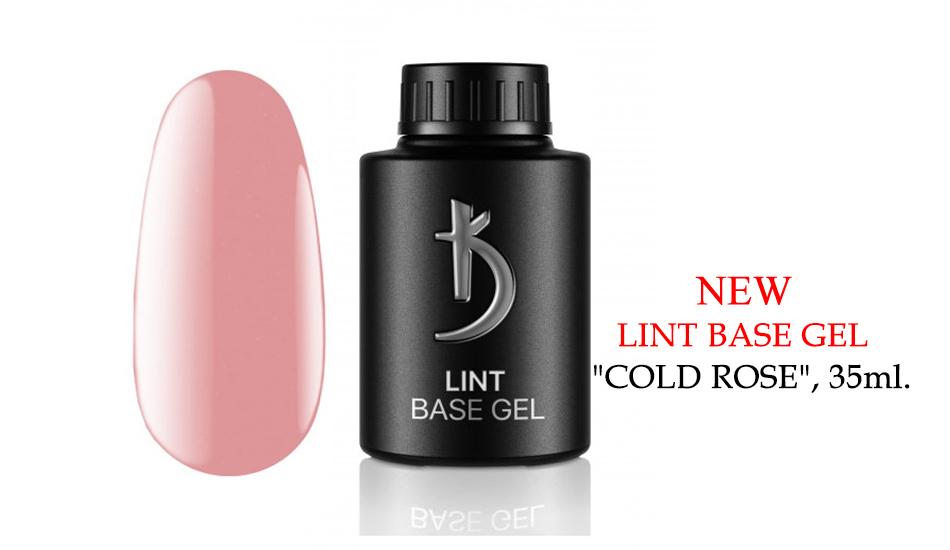 "Kodi Lint base gel ""Cold Rose"", 35ml."