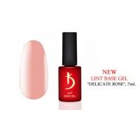 """Kodi Lint base gel """"Delicate Rose"""", 7ml."""
