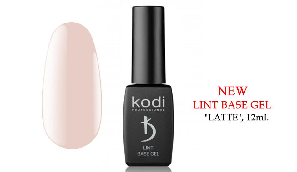 """Kodi Lint base gel """"Latte"""", 12ml."""