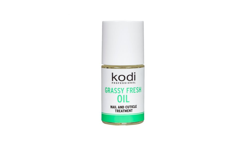 "Cuticle Oil ""Grassy Fresh"" 15ml."