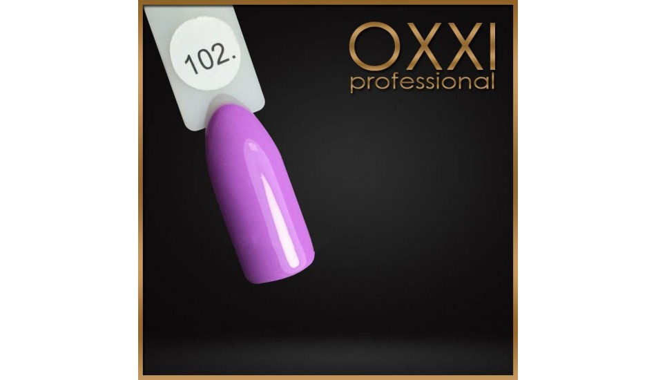 Gel polish Oxxi №102