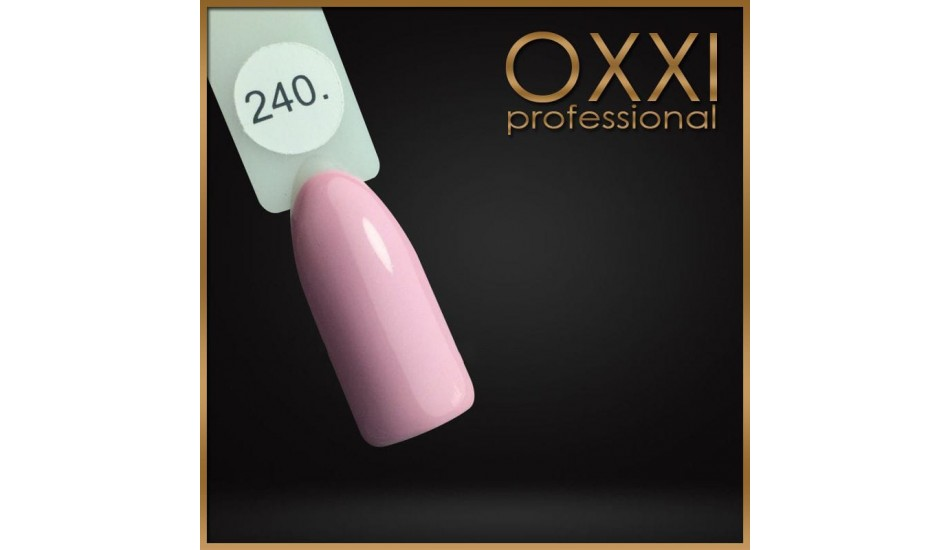 Gel polish Oxxi №240