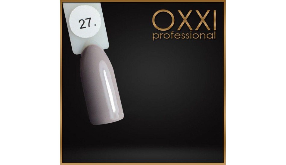 Gel polish Oxxi №027