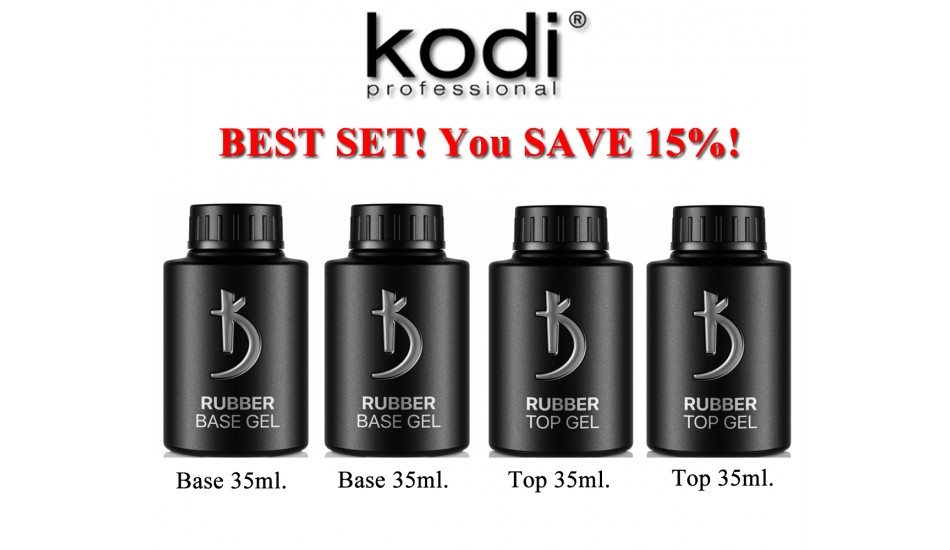 Kodi Base 35ml + Base 35ml + Top 35ml + Top 35ml