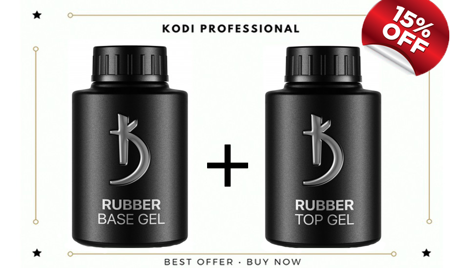 Rubber Base 35ml + Rubber Top 35ml