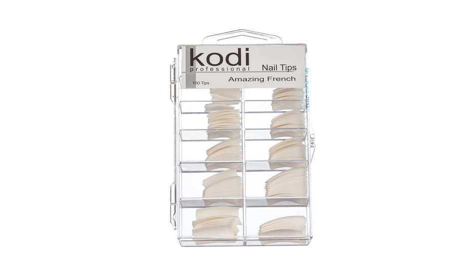 NAIL TIPS (AMAZING FRENCH) 100pcs.