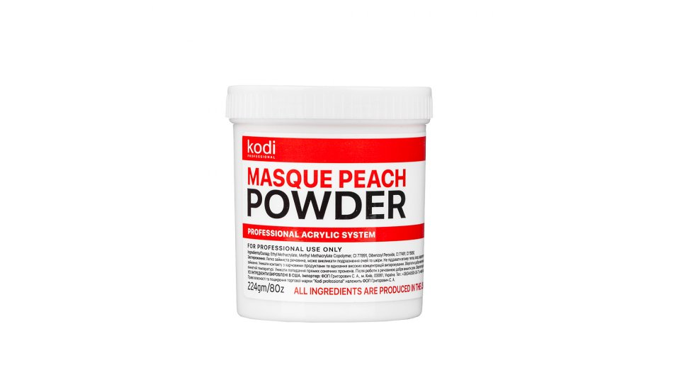 MASQUE PEACH POWDER 224 g.