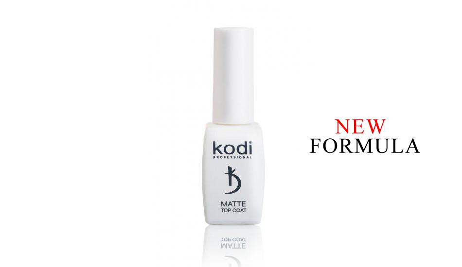 "Kodi Matte Top Coat ""VELOUR"" NEW 8 ml."
