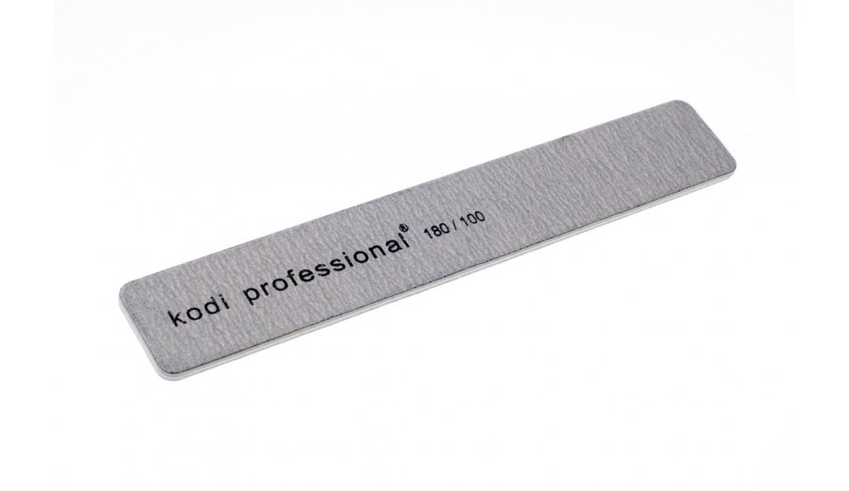 "NAIL FILE ""RECTANGLE"" GREY 180/100"